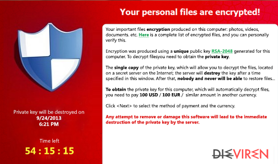 FessLeak ransomware-Screenshot