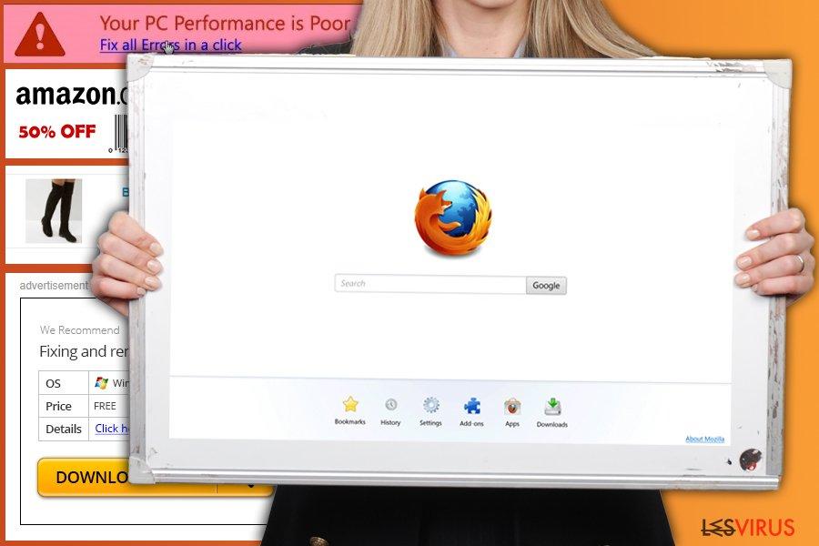 Firefox Weiterleitungsvirus