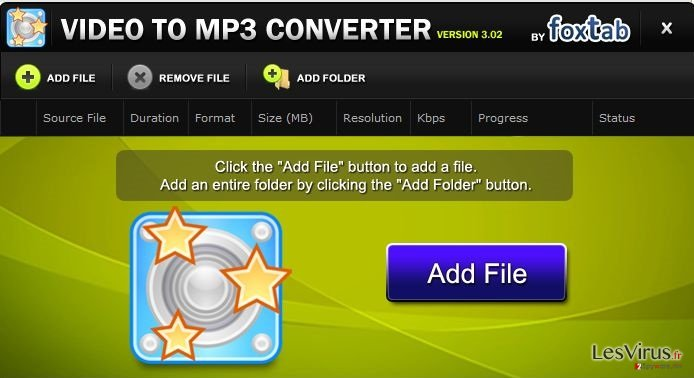 FoxTab Video Converter-Screenshot