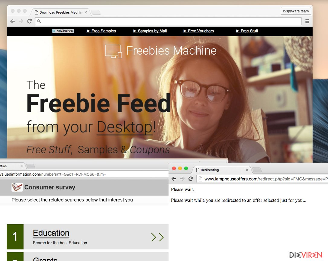 Freebies Machine virus