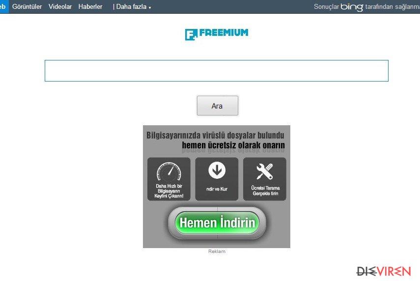 Freemium ads-Screenshot