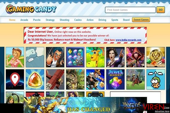 GamingCandy-Screenshot
