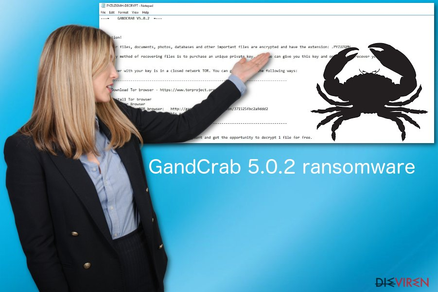 Erpressersoftware GandCrab 5.0.2