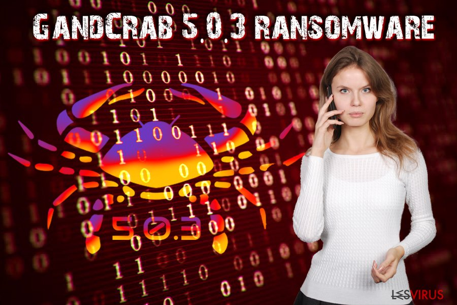 GandCrab 5.0.3-Virus