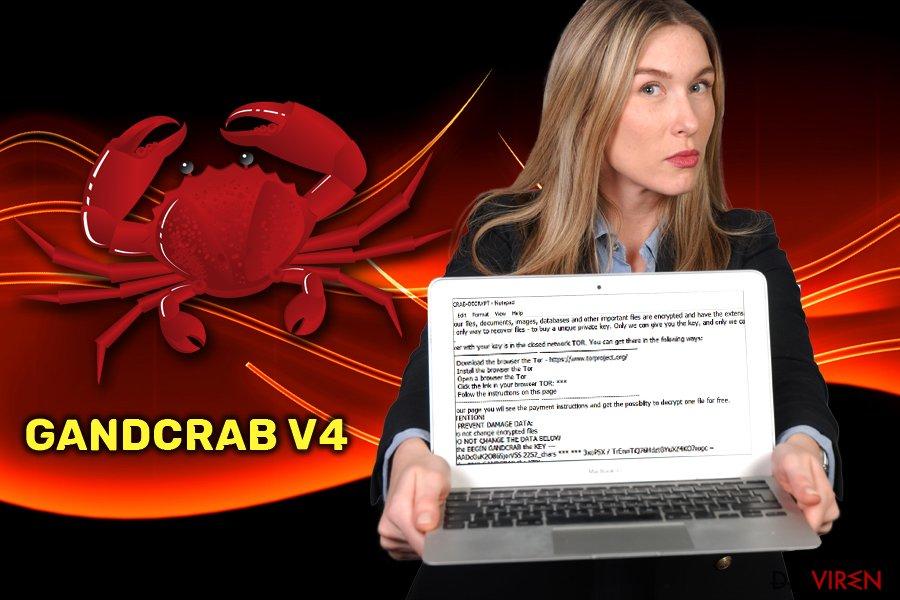 GandCrab v4-Ransomware