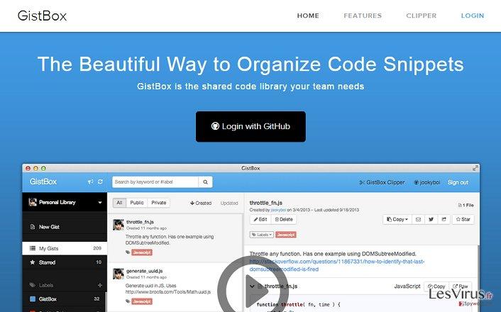 GistBox-Screenshot