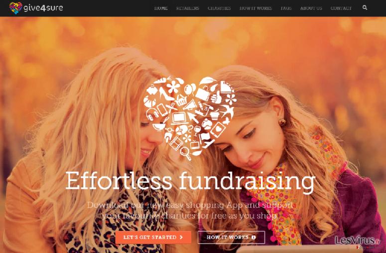 Anzeigen von Give4sure-Screenshot