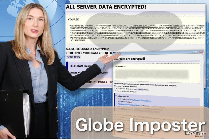 Abbildung Globe-Imposter-Virus