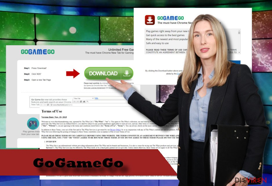 Screenshot GoGameGo-Virus