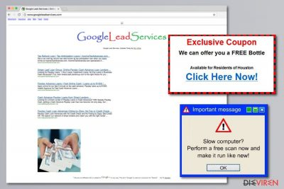 Abbildung Google Lead Services