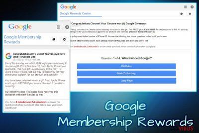 """""""Google Membership Reward""""-Virus"""
