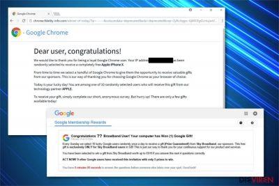 Abbildung Google-Gewinnbetrug