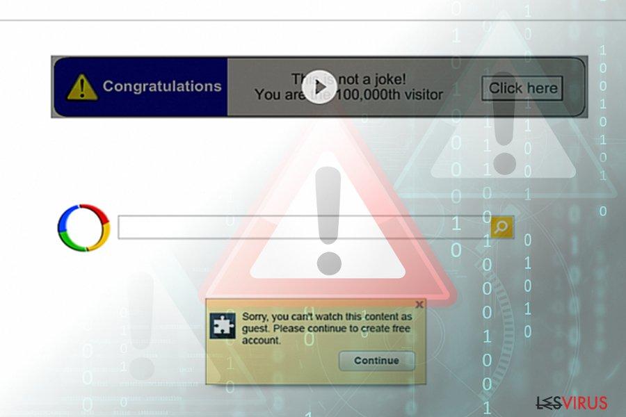 Google-Weiterleitungsvirus (Suchergebnisse)