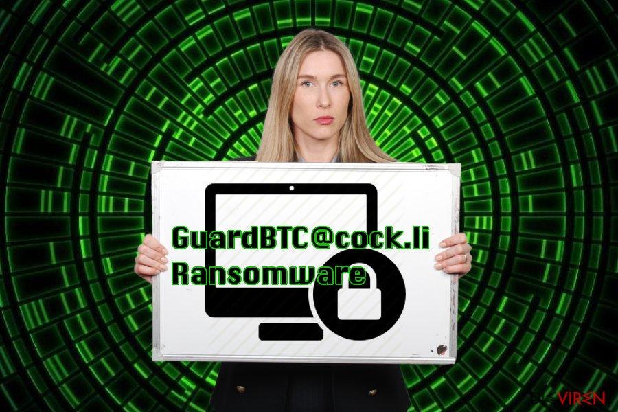 Abbildung GuardBTC@cock.li-Virus