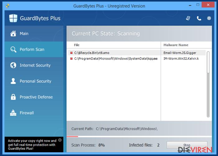 GuardBytes Plus-Screenshot