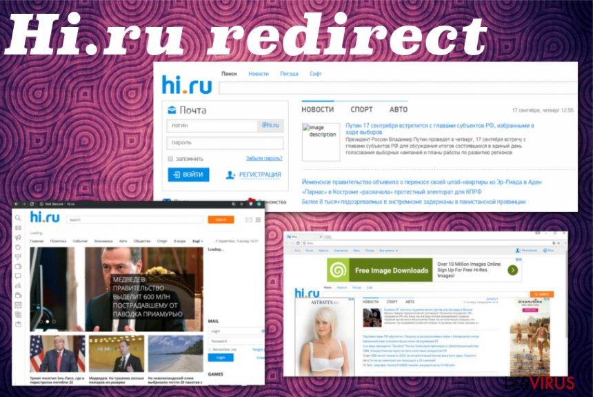 Hi.ru-Weiterleitung-Screenshot
