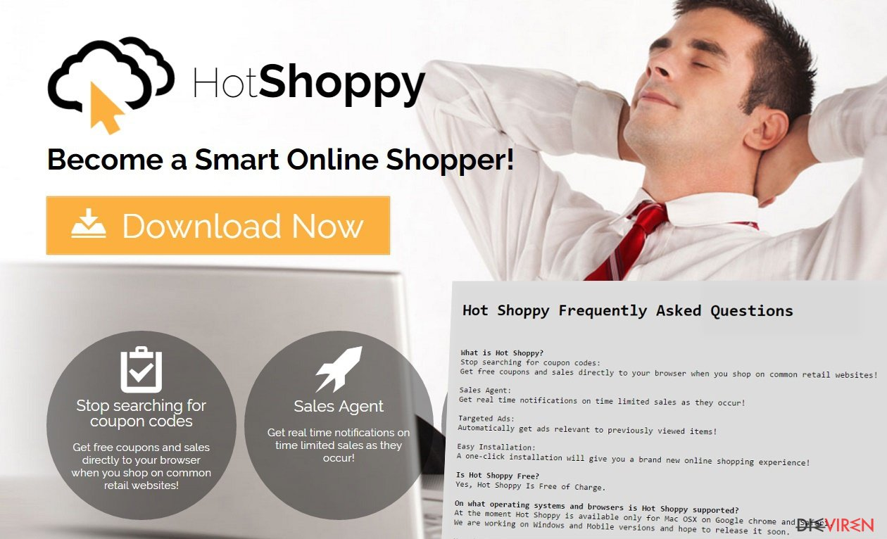 HotShoppy ads offer various discount coupons and special offers