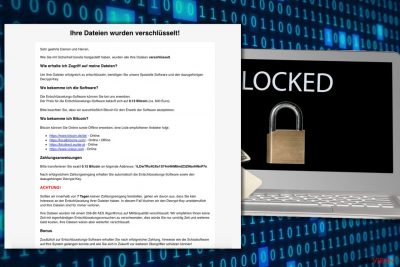 Ransomware-Attacke HSDFSDCrypt