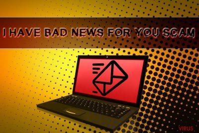 """""""Ich habe schlechte Nachrichten für dich""""-Betrug"""