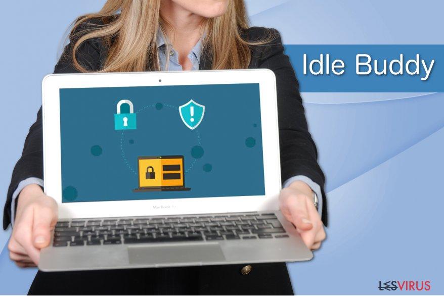 Beispiel IdleBuddy-Virus