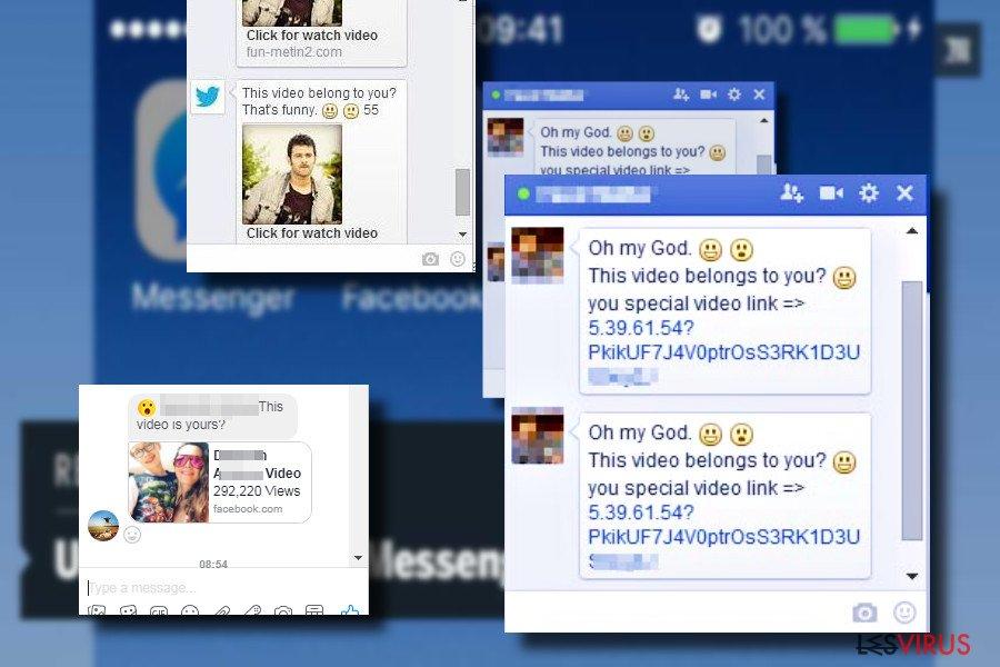 """""""Bist du das"""" - Die Nachricht eines Facebook-Virus"""