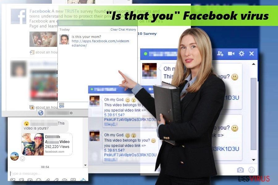 """""""Bist du das""""-Facebook-Virus"""