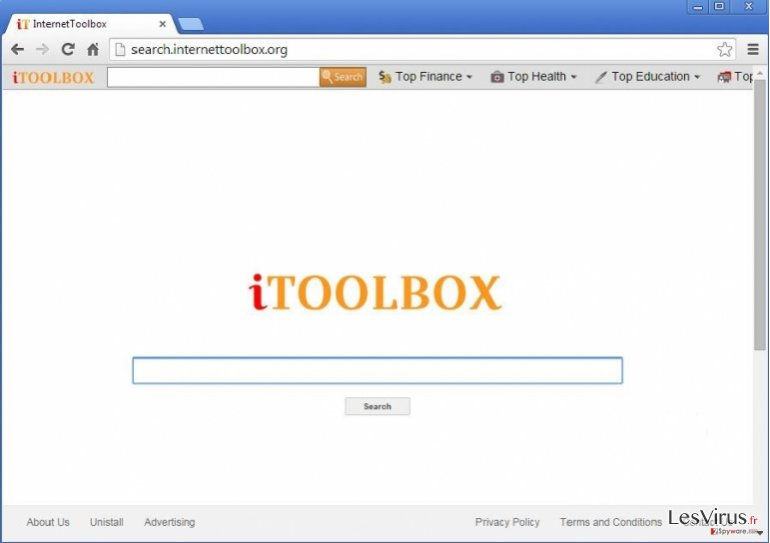 iToolbox Toolbar-Screenshot