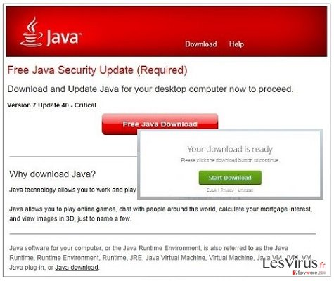 Jsd.pathjava.net-Pop-up-Anzeigen-Screenshot