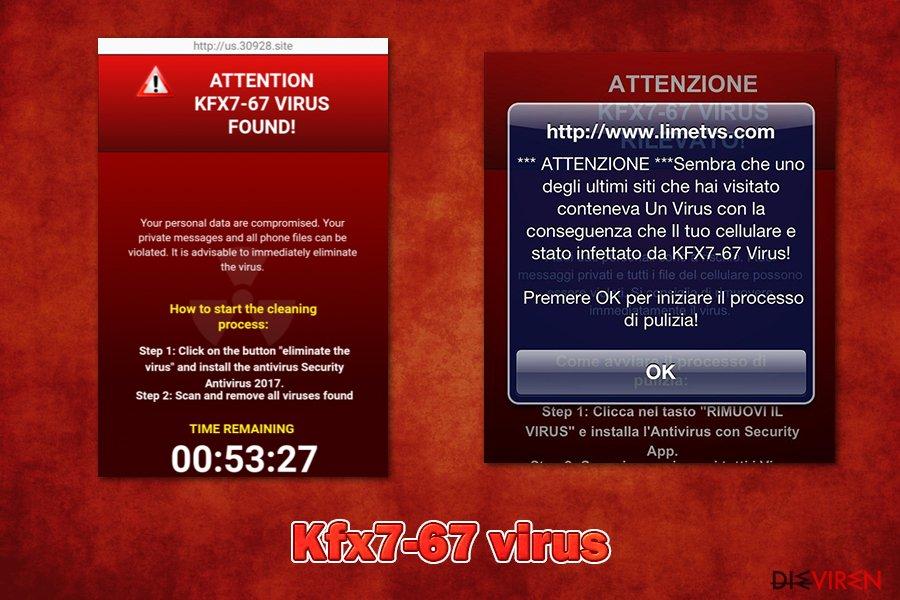 Kfx7-67 virus
