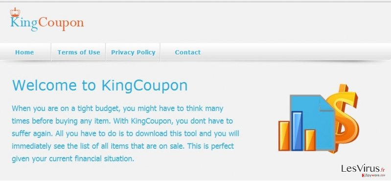 KingCoupon-Virus-Screenshot