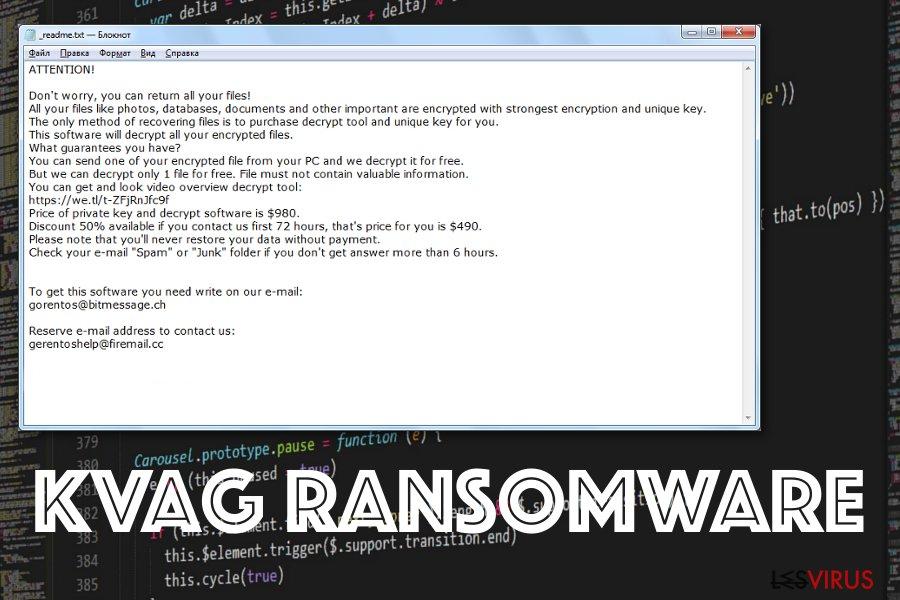 Kvag-Erpressersoftware