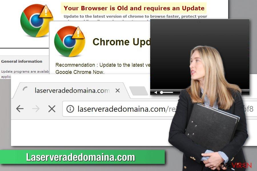 Laserveradedomaina-Schadsoftware