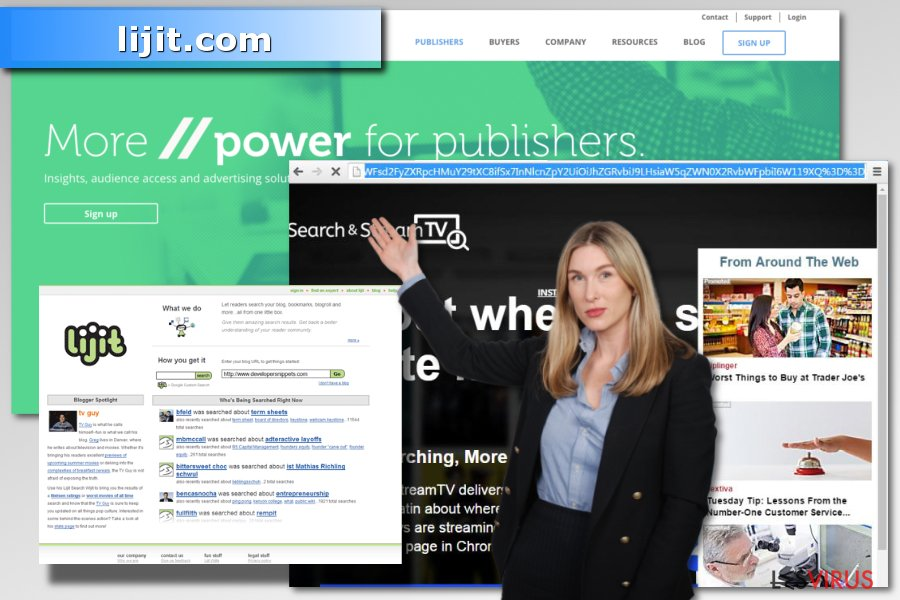 Abbildung lijit.com-Virus