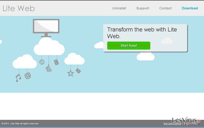 Anzeigen von Lite Web-Screenshot
