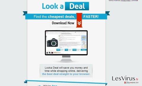 Anzeigen von Looka Deal-Screenshot