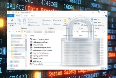 Vverschlüsselte Dateien von Losers-Erpressersoftware