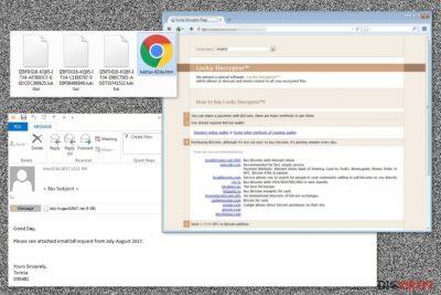 Abbildung Lukitus-Erpressersoftware