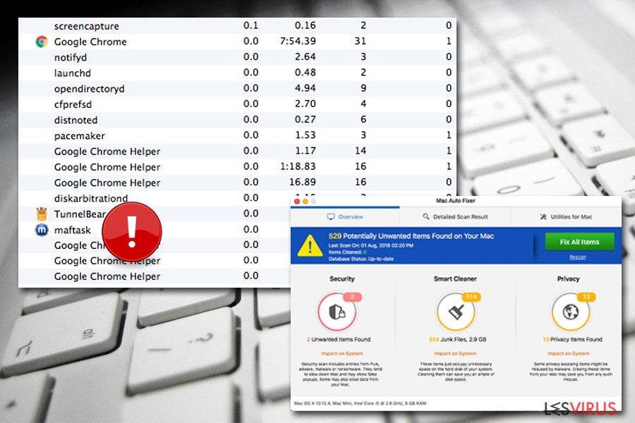 Maftask ist ein Bestandteil von Mac Auto Fixer