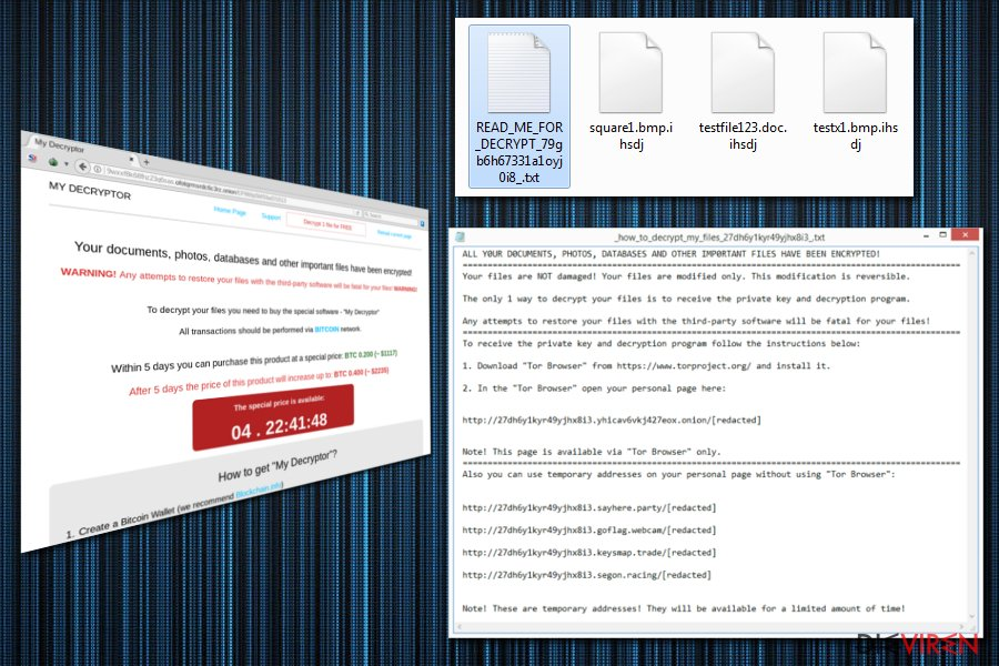 Magniber ransomware encrypts all files