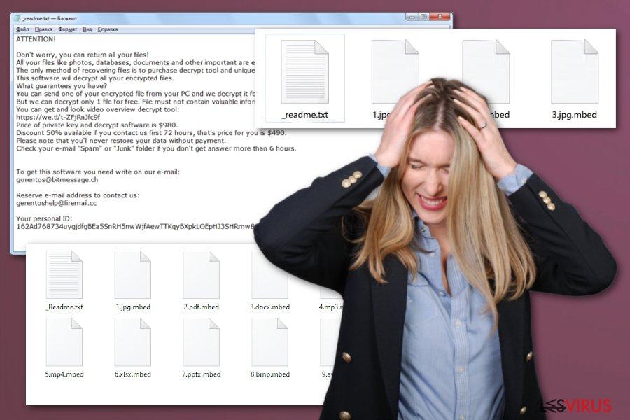 Mbed-Erpressersoftware