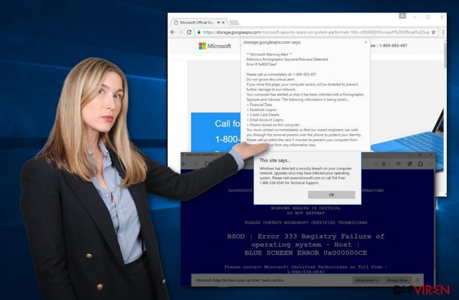 Microsoft-bezogene Schadsoftware