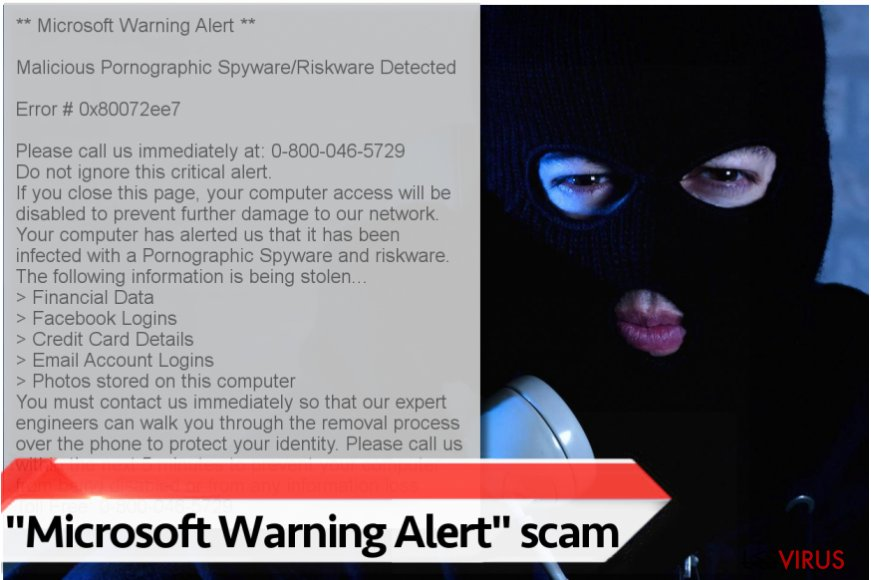 """Microsoft Warning Alert""-Virus"