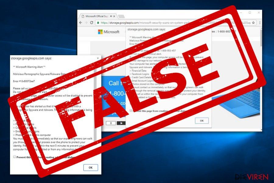 """Microsoft Warning Alert""-Virus"