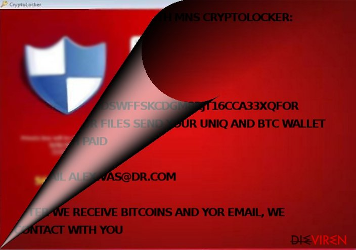 Ist MNS CryptoLocker mit CryptoLocker verwandt?