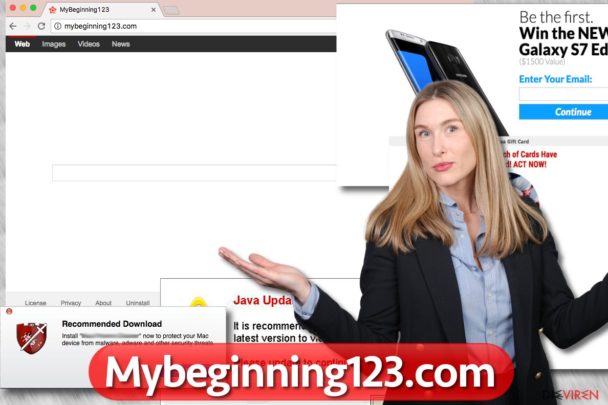MyBeginning123.com-Browser-Hijacker