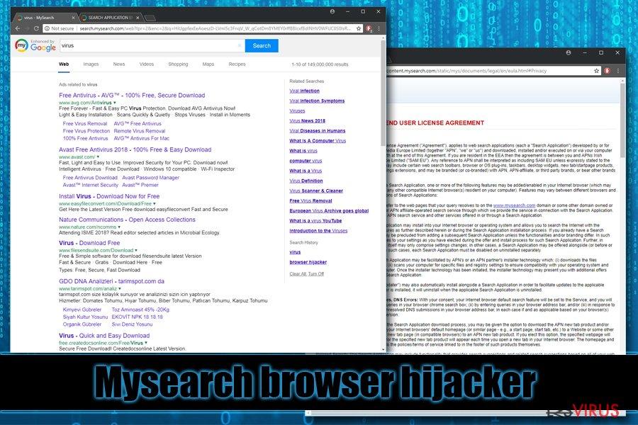 Mysearch-Browser-Hijacker