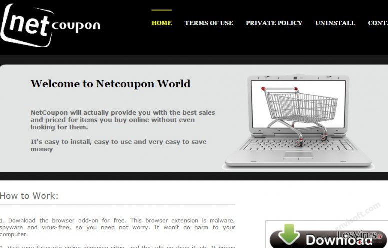NetCoupon-Virus-Screenshot