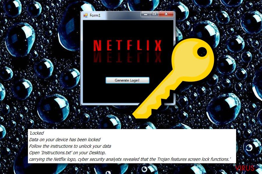 Netflix-Erpressersoftware