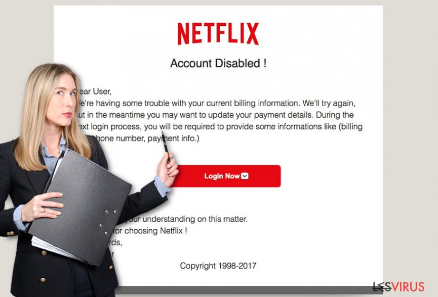 Netflix.com Pop-Up-Anzeigen