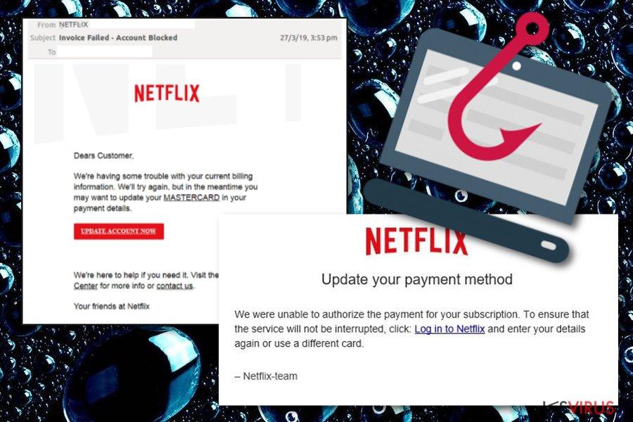 Netflix-Mailbetrug